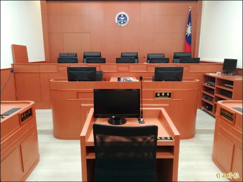 職務法庭免除桃園地院法官俞力華職務。(記者吳政峰攝)