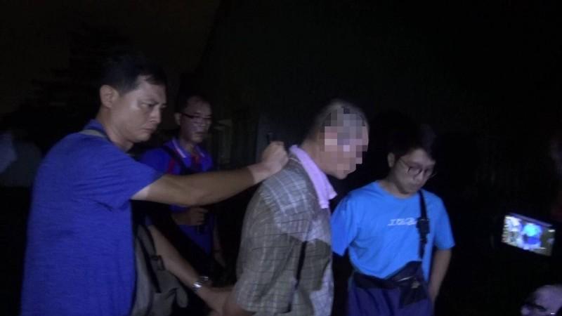 製毒師傅「小林仔」被警方逮獲。(民眾提供)