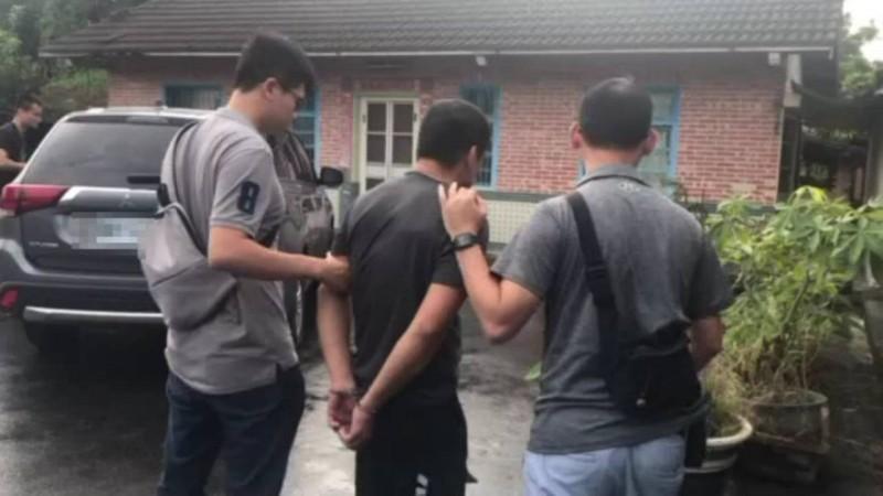 另一名涉製毒綽號「阿豐仔」的林姓男子落網。(民眾提供)