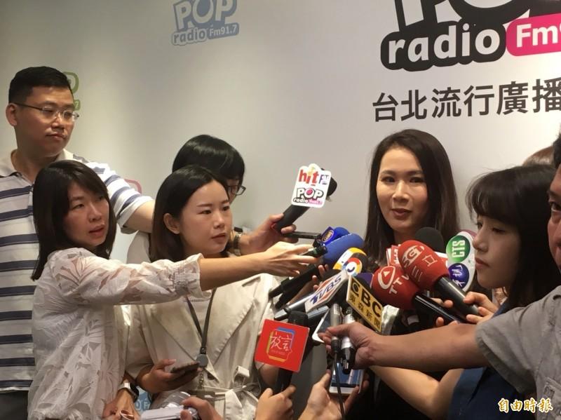 郭台銘幕僚、永齡基金會執行長劉宥彤。(記者陳柔蓁攝)