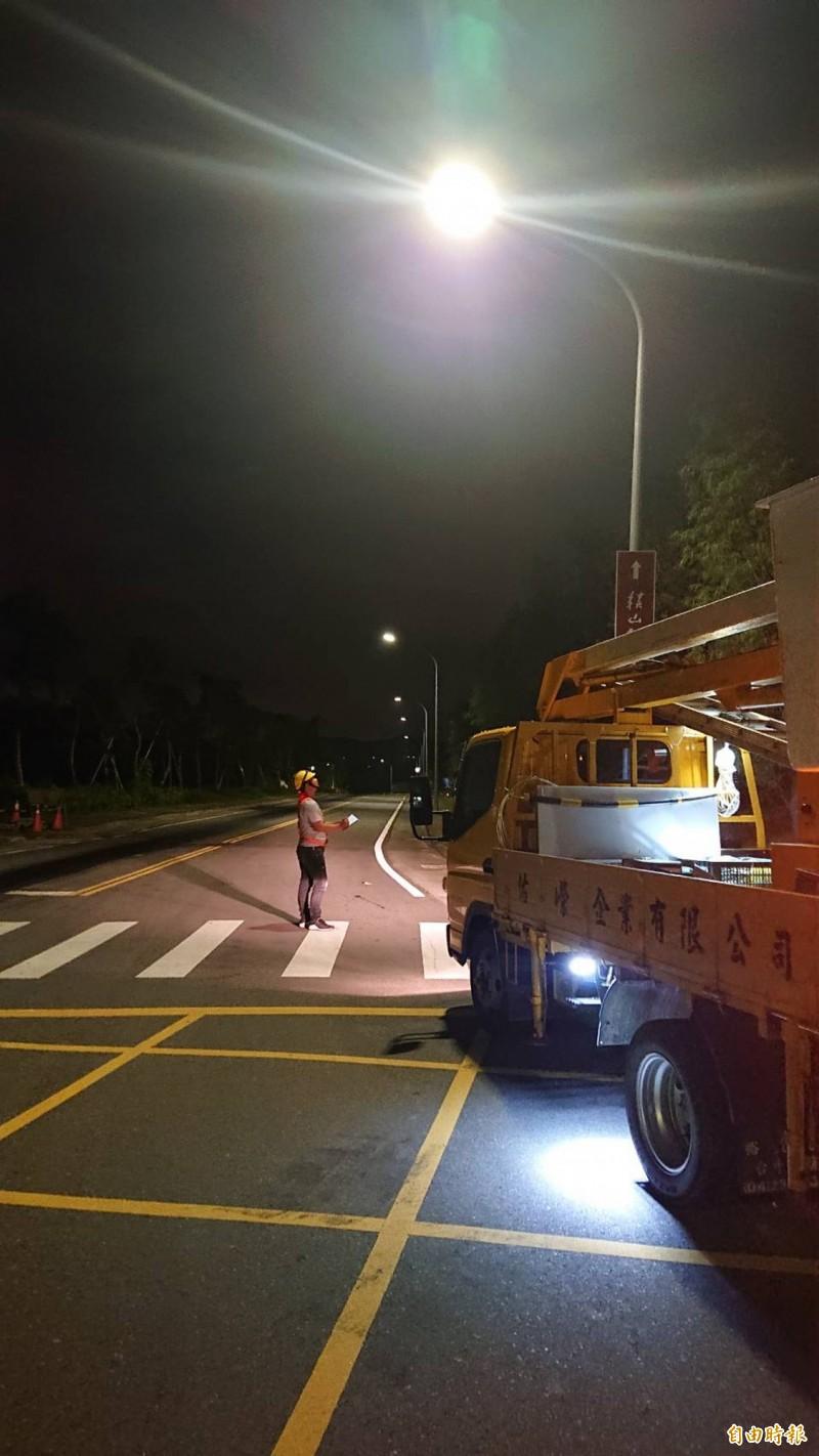 中市換LED路燈 年省1億電費