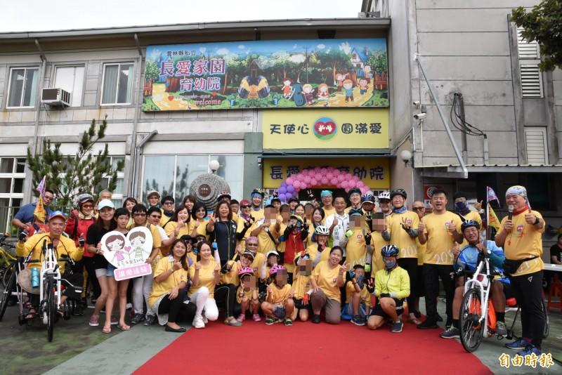 感受台灣之美 育幼院童挑戰1000公里單車環島