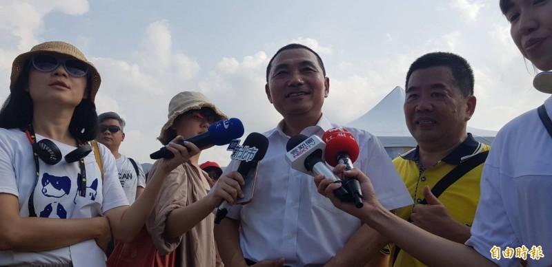 點頭接任韓國瑜新北競總主委  侯友宜這樣說