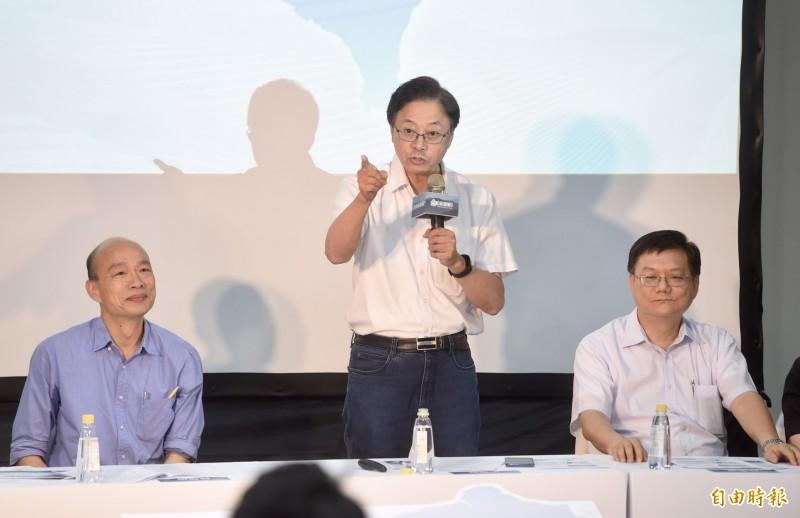 [即時]曝韓國瑜國政顧問團「隱藏名單」 張善政點名李崗、趙式隆