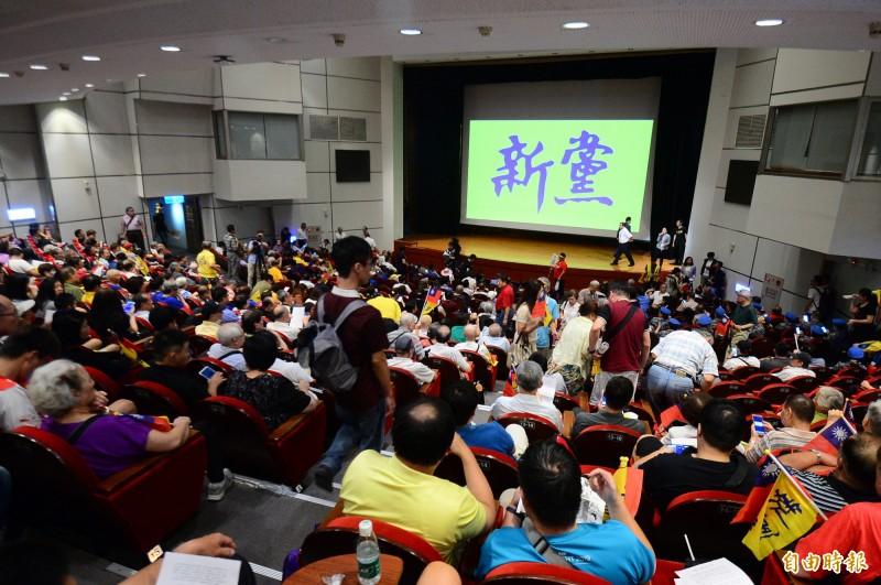 新黨推「一國兩制台灣方案」 陸委會:了解是否觸法