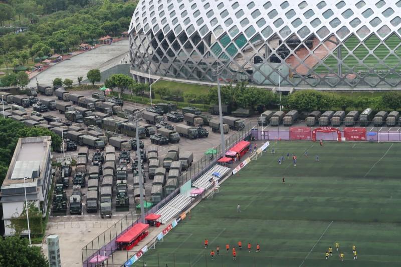 香港若遭鎮壓  德媒:台灣親北京候選人將落敗