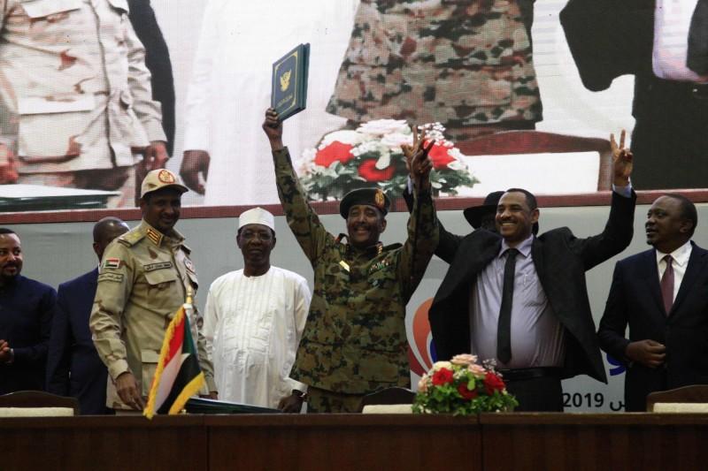 民主獲勝!蘇丹公民抗爭見曙光 與軍方簽下分權協議
