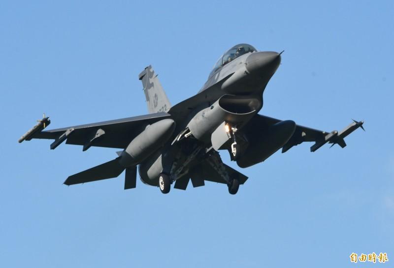 川普政府不顧北京強烈反對,繼續推動對台灣的80億美元新型F-16戰機軍售案,國務院於15日晚間,非正式通知國會對台軍售的計畫。(資料照)