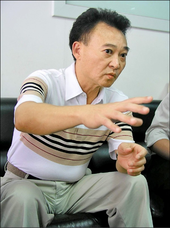 台中市議長張宏年談起被綁架經過,仍無法理解薛球為何找上他。(資料照)