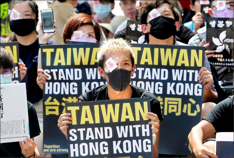 若解放軍鎮壓香港 港人權律師:台灣親中候選人將落敗