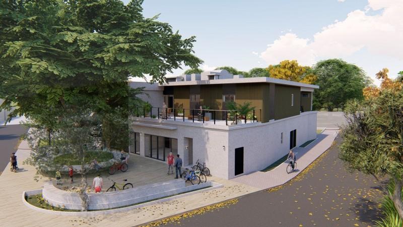 28年千甲社區活動中心改建複合式關懷據點。(記者蔡彰盛翻攝)