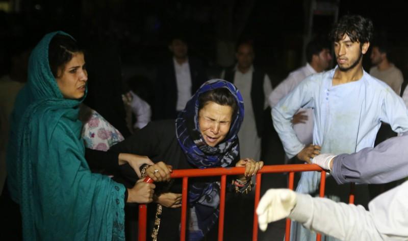 阿富汗首都喀布爾一場婚禮發生爆炸,賓客大量死傷。(歐新社)