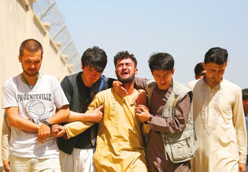 《TAIPEI TIMES》 IS suicide bomber kills at least 63 at Afghan wedding