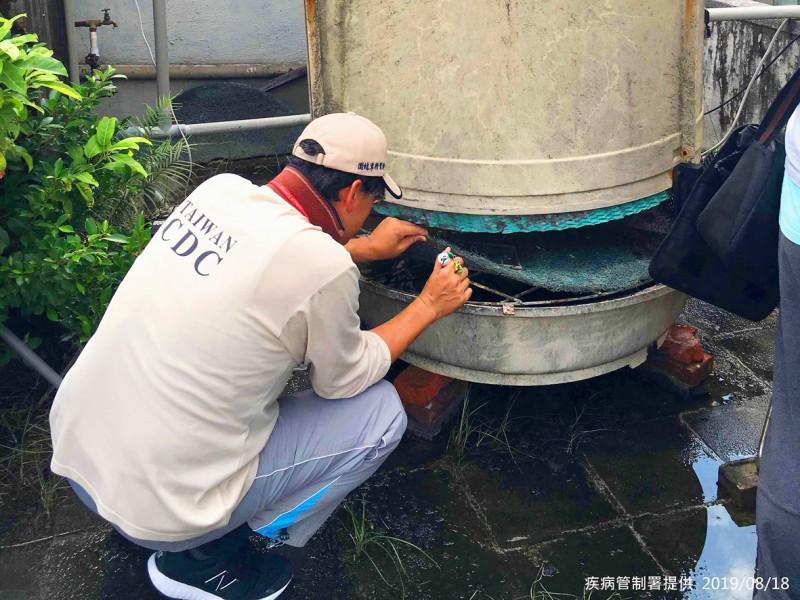 《TAIPEI TIMES》 Indigenous dengue case found in Taipei's Daan