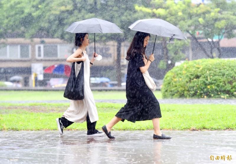 《TAIPEI TIMES》 Jhongli rain most acidic in Taiwan