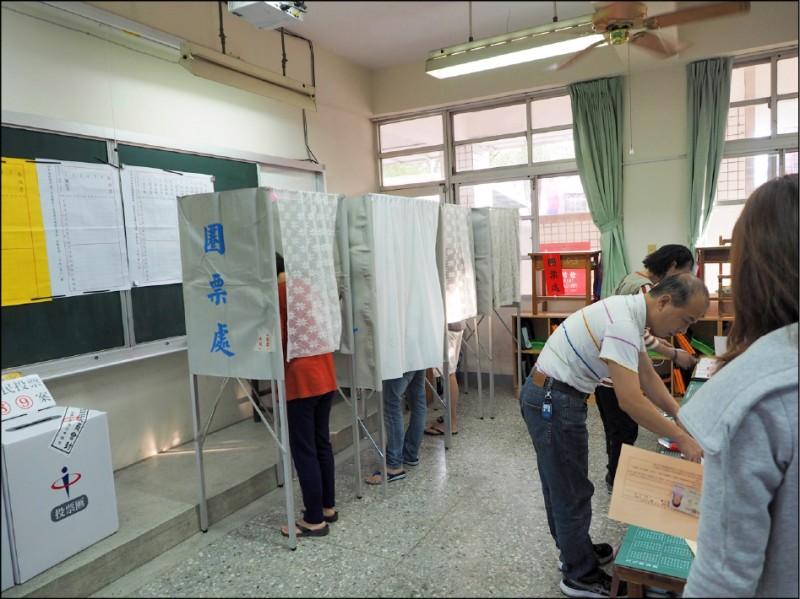 台灣人實在沒道理去投美國一票,或投中國一票,但一定要投台灣一票,這應該是主權國家的共識。(資料照)
