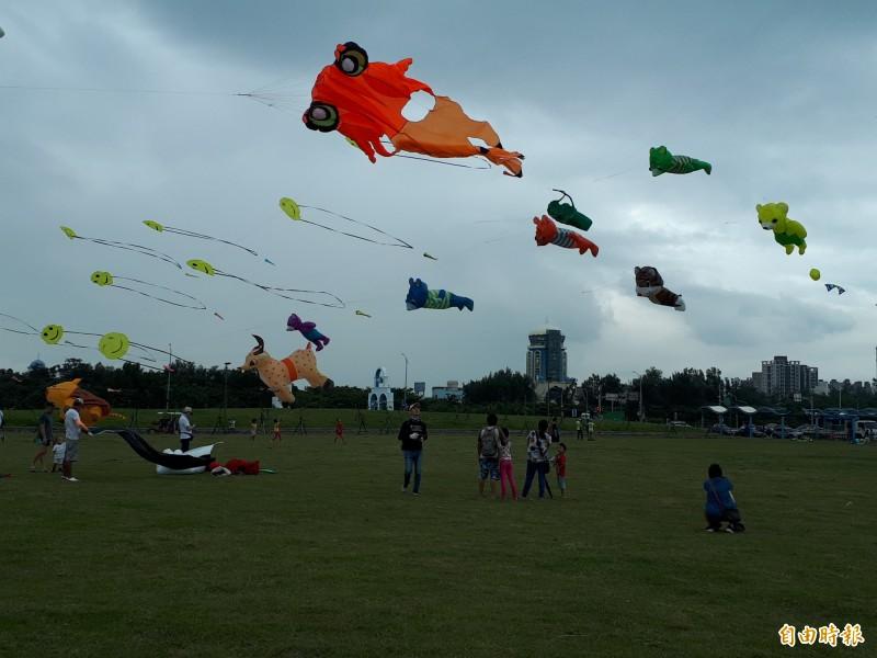 天空動物園來了! 竹市國際風箏節週六見