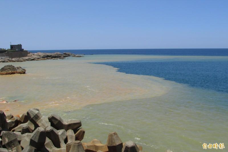 水湳洞「陰陽海」。(資料照)