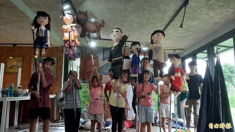 踢石頭找海祖廟  西拉雅學童演出夏令營成果