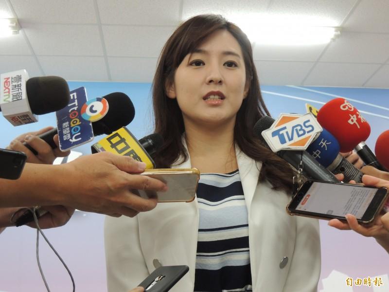何庭歡表示,韓國瑜身為國民黨總統參選人,對於國防政策的主張一向是「防守而不攻擊」,「避戰而不求戰」。(資料照)