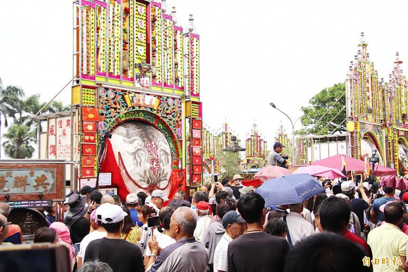 《TAIPEI TIMES》 Animal rights advocates protest 'divine pig' ritual
