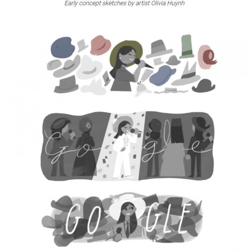 Google台灣與香港行銷副總經理利啟正表示,鳳飛飛的動人歌聲和魅力,不僅在台灣流行樂史上寫下傳奇故事,她的歌曲也傳遍亞洲華語地區。(圖擷取自Google)