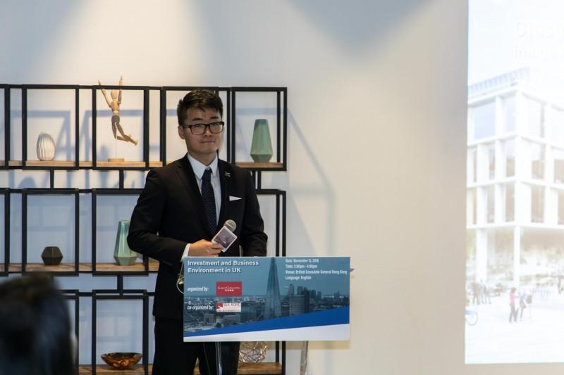 港媒消息指出,有一名在英國領事館擔任職員的香港人Simon Cheng(見圖),於本月初從深圳搭乘高鐵回港時突然失聯,至今已超過10天。(圖擷自絲綢之路經濟發展研究中心官網)