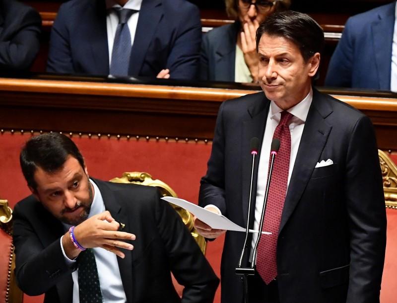 義大利總理請辭! 孔蒂當眾痛批副總理「不負責任」