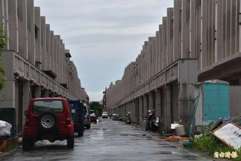 崇蘭大盜最喜歡冒充建築工人在工地附近作案。(記者葉永騫攝)