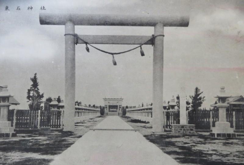 朴子原東石神社列歷史建築  老照片對比今昔