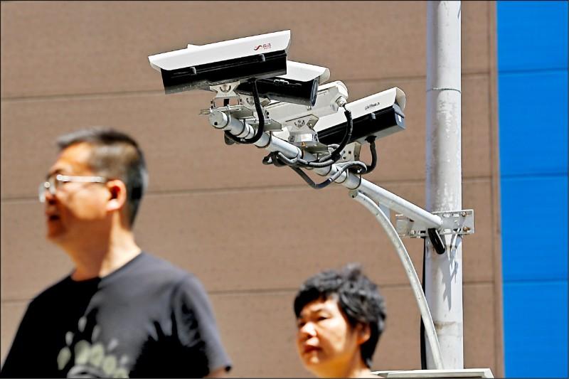 中國監控密度冠全球 明年1監視器盯2人