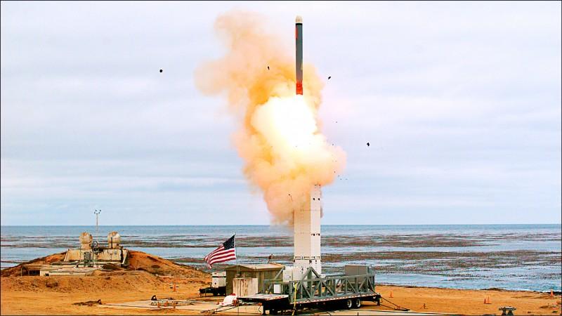 退出INF後 美首射陸基巡弋飛彈