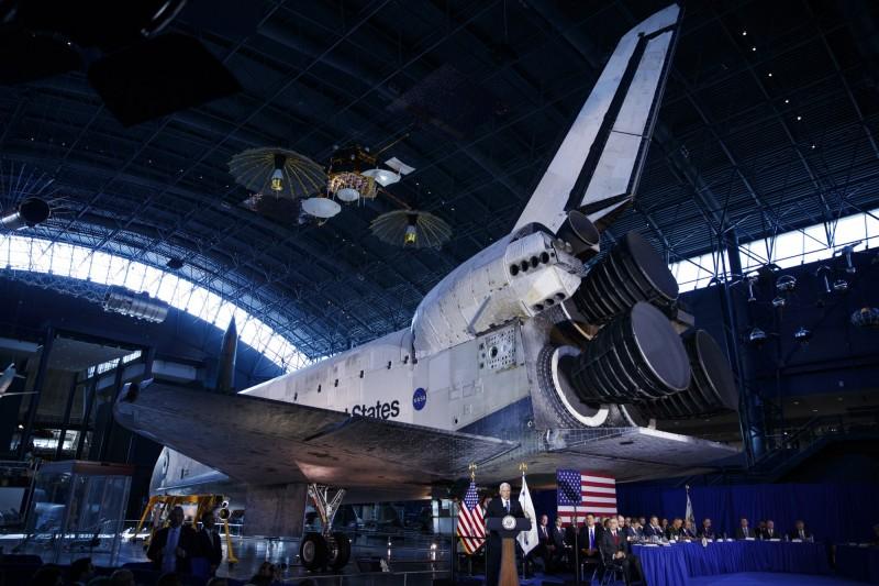 副總統彭斯宣布,美軍太空司令部下週將正式成立,統一指揮負責太空軍作戰防衛事務,是美軍第11個聯合作戰司令部。(歐新社)