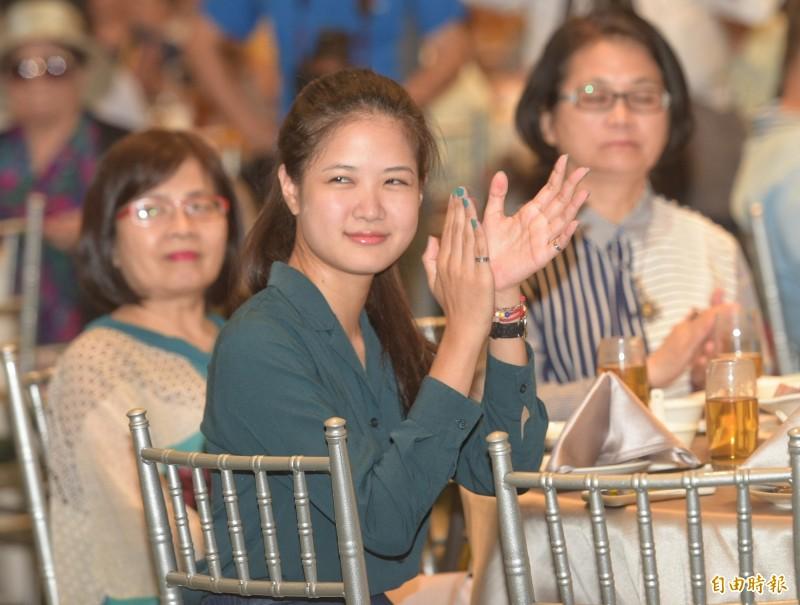 時代力量台北市議員林亮君發文希望新黨魁徐永明能帶領黨邁向2020大選之戰。(資料照)