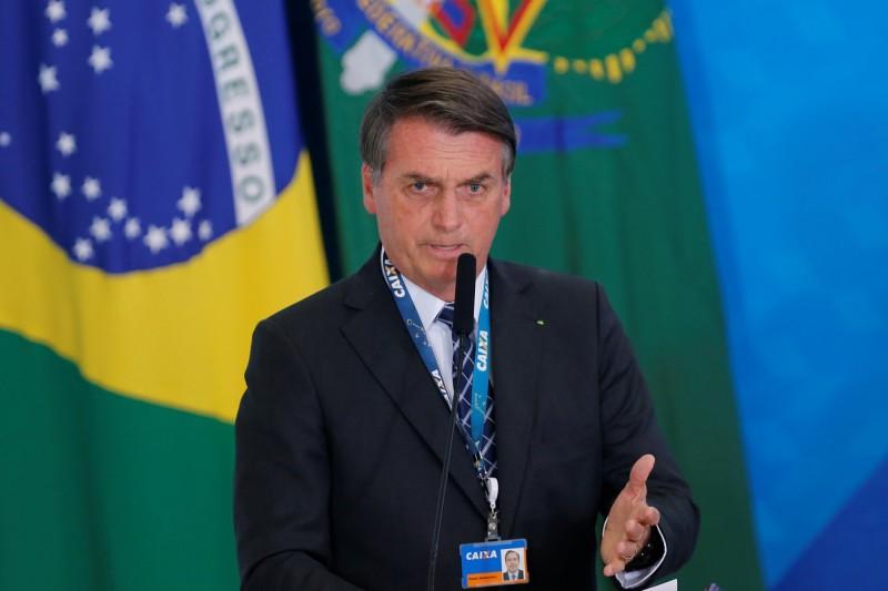 巴西總統波索納羅(見圖)今(21)日在沒有提供任何證據之下,聲稱可能是非政府組織在資金被削減後,焚燒亞馬遜熱帶雨林,又試圖把這個惡名冠到他的政府頭上。(路透)