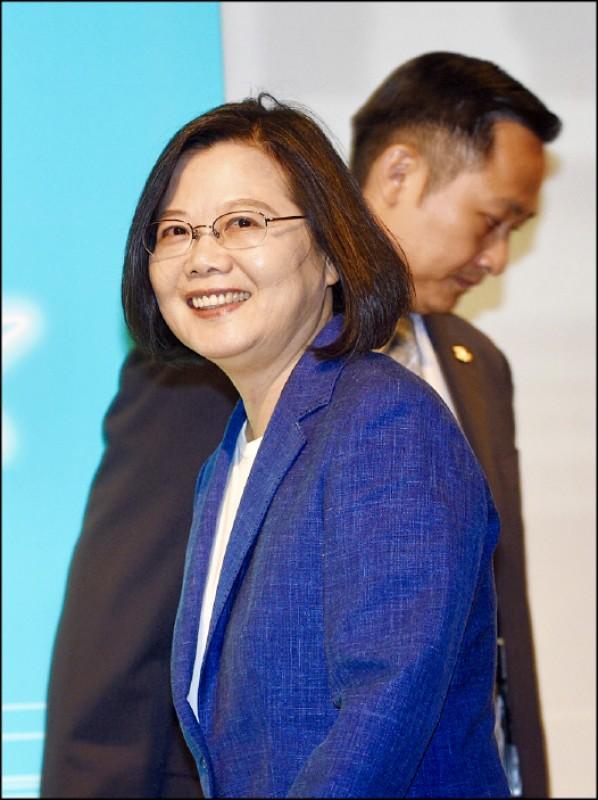 蔡英文總統昨與民進黨籍台北市議員在總統官邸茶敘。(資料照)