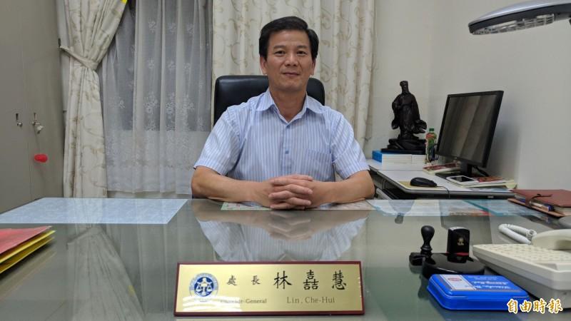 司法院政風處處長林嚞慧將於28日調任法務部保護司副司長。(記者吳政峰攝)