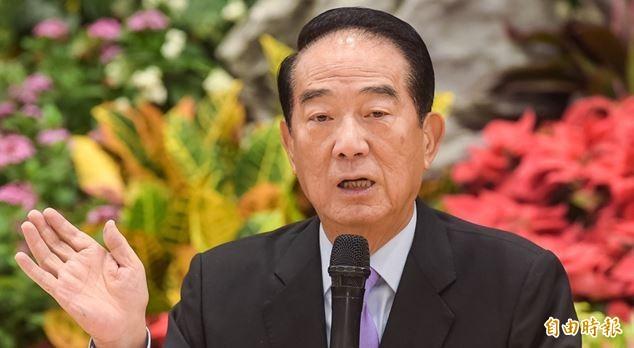 李戡希望宋楚瑜再征2020總統大選,並批評韓國瑜把選舉當兒戲。(資料照)