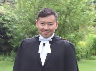 總統府秘書長辦公室主任游尚儒(見圖)代表,委任律師黃帝穎正式向散佈不實訊息的國民黨立委曾銘宗提出加重誹謗罪的告訴,並於台北地檢署完成遞狀。(記者葛祐豪翻攝)