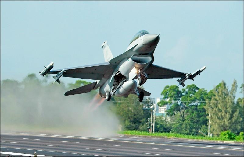 美國國務院於美東時間20日正式通知國會,軍售台灣66架F-16V戰機。(美聯社檔案照)