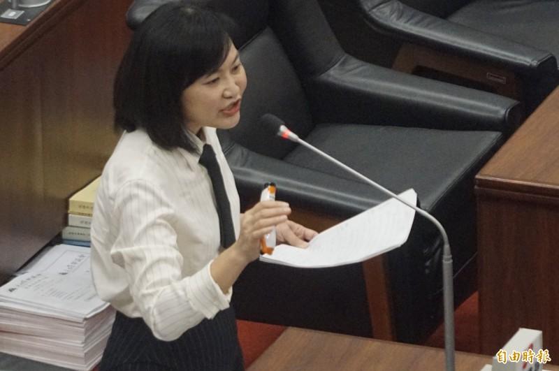 高市議員陳麗娜。(資料照)
