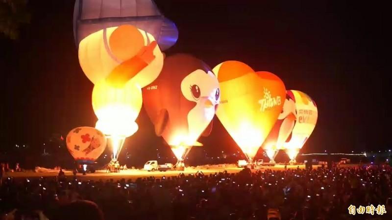 大武曙光光雕活動將順延至8月31日舉行。(資料照)