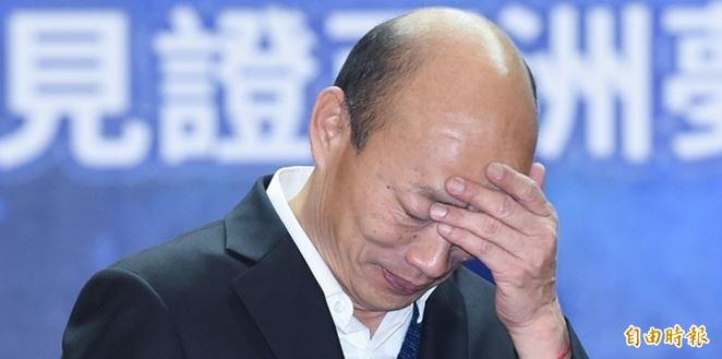黃帝穎批評韓國瑜(見圖)「幻想式的說被監控」,提不出證據還亂扯別人也沒證據。(資料照)