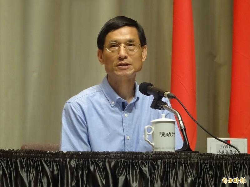 年改釋憲結果下午公佈,政務委員林萬億將召開記者會說明。(資料照)