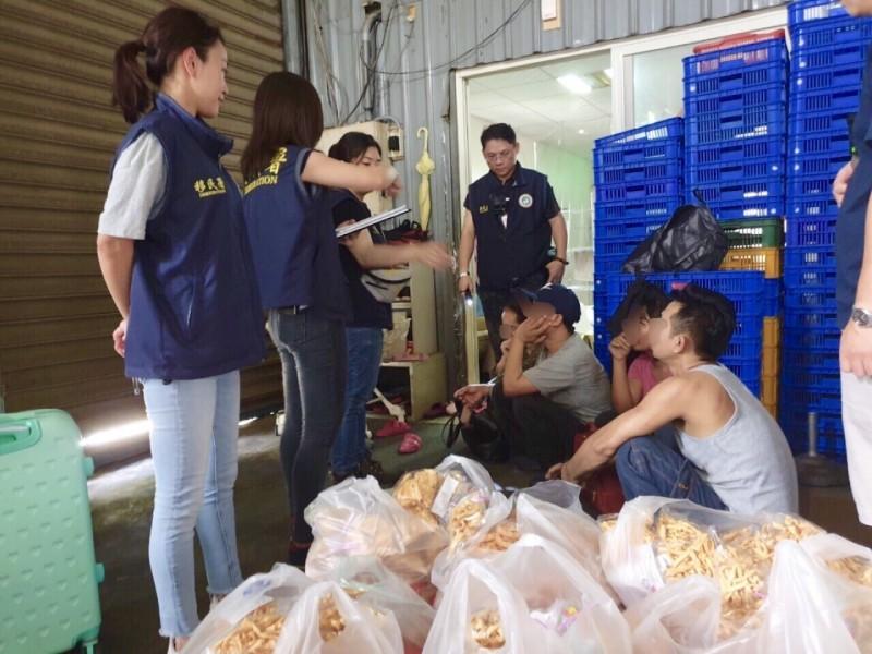 白鹿颱風來襲前移民署大突襲 全國逮獲逾期外來人口322人