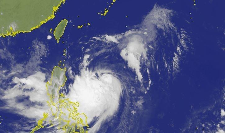 傑森認為,白鹿颱風暴風圈將在24日起逐漸影響中國東南沿海地區。(圖擷取自中央氣象局)