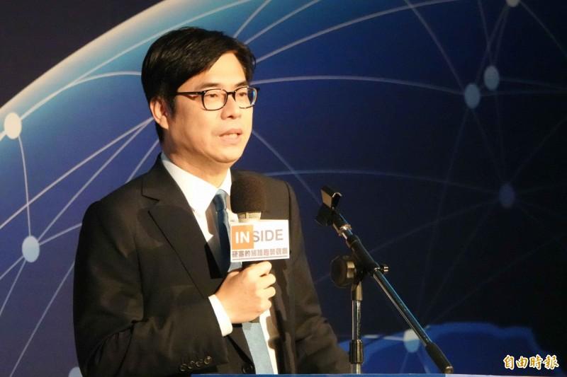 行政院副院長陳其邁。(記者王憶紅攝)