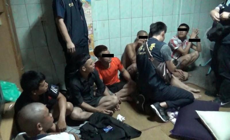 移民署圍捕8名失聯移工竟未遭抵抗  原來他們都喝茫了...