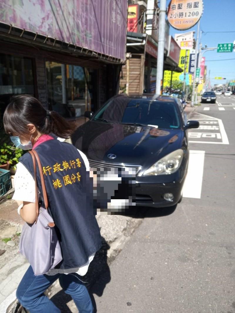 車主欠繳罰單5萬餘元  行政執行署苦追查扣車輛