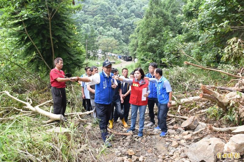 雲林居白鹿颱風警戒區 水利、工務嚴陣以待